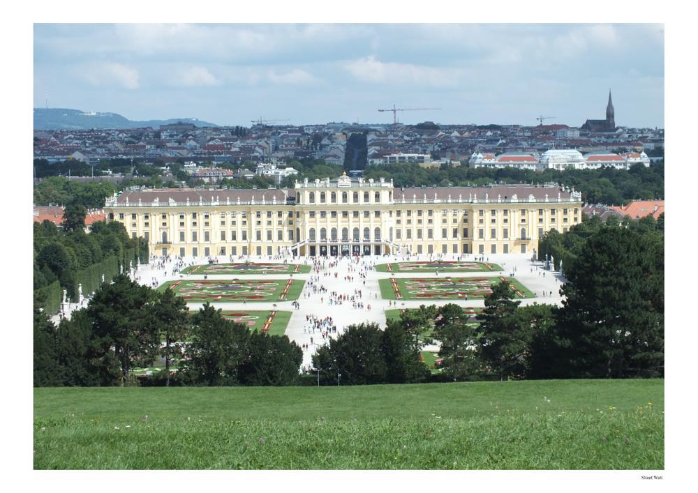 Photo in Architecture #schonbrunn palace #vienna #wien