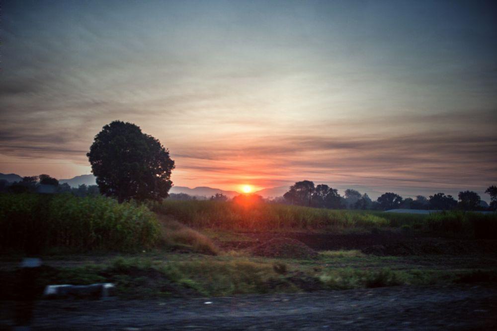 Photo in Nature #sunshine #sunrise #morning #nature #country #side
