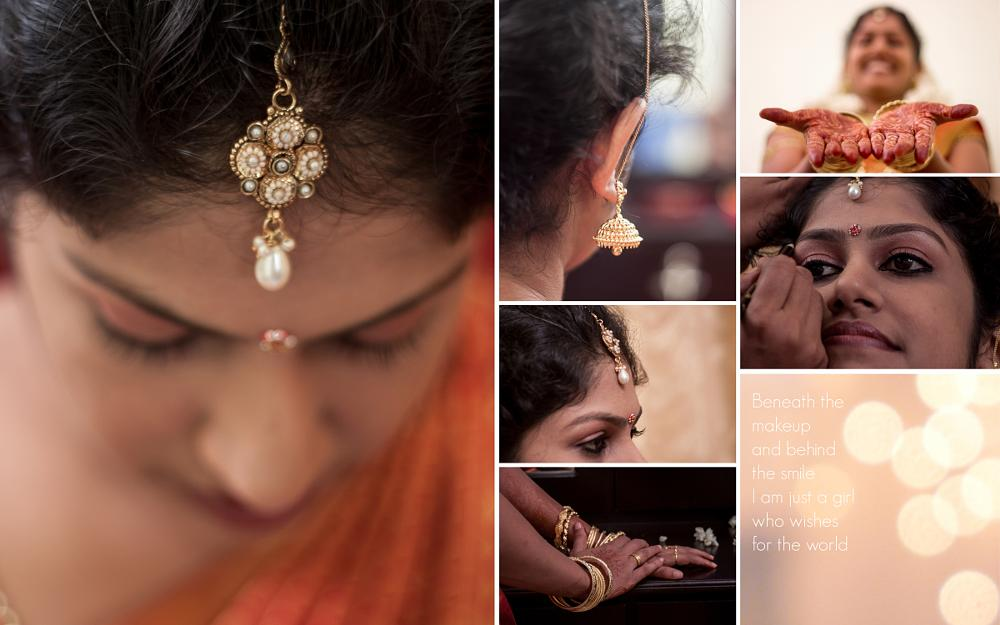 Photo in Wedding #bride #bridal makeup #makeover #marriage #girl #ornamentation