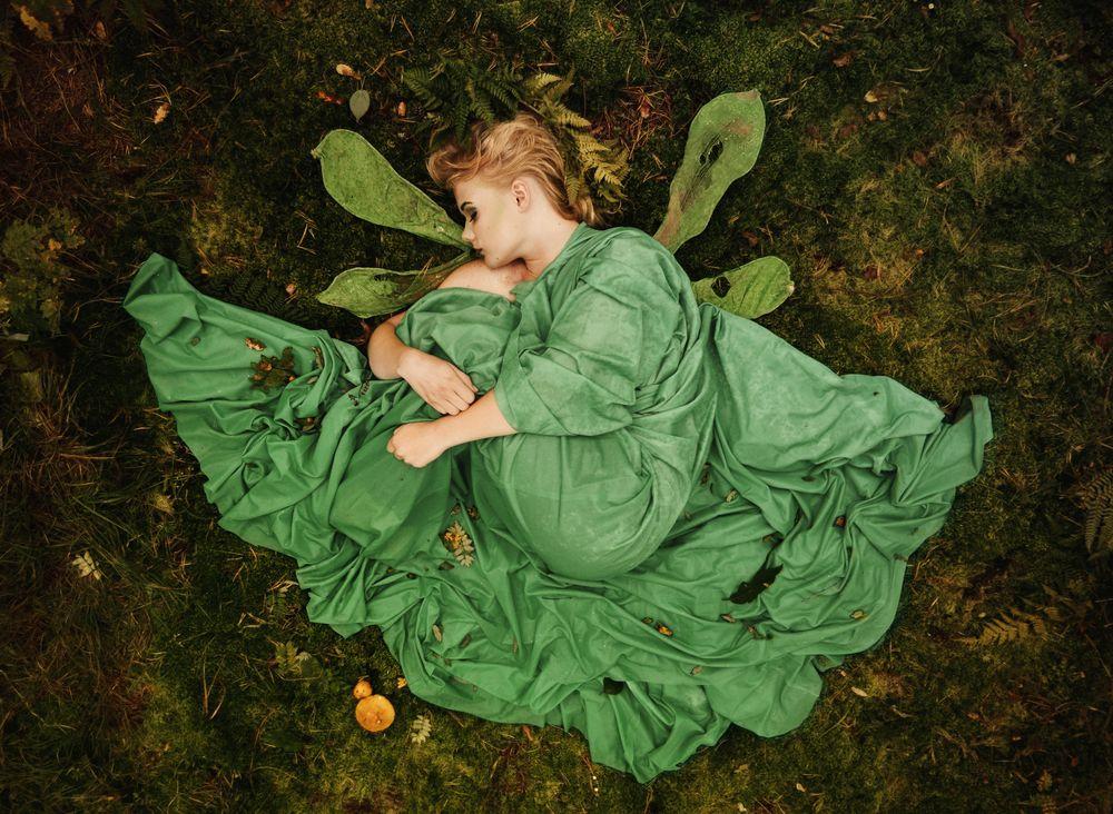 Photo in Portrait #model #woman #forest #fairy #fairytale #sesja