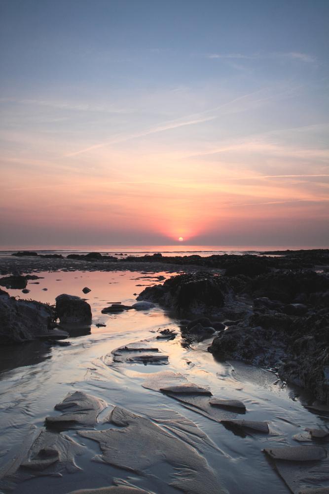 Photo in Landscape #sunset #landscape #birlinggap #sevensisters #seascape