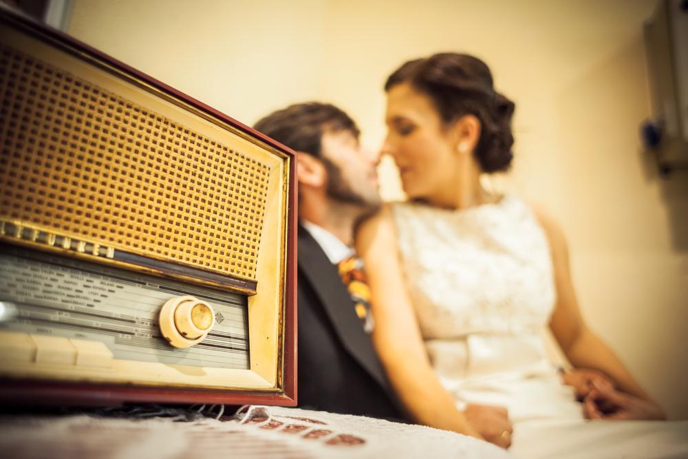 Photo in Wedding #radio #fashion #old #boda #wedding #retro