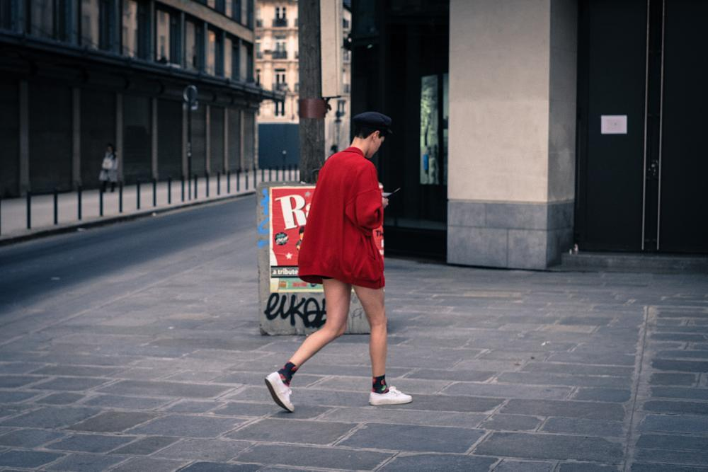 Photo in Street Photography #streetphotography #streetcontest #paris #red