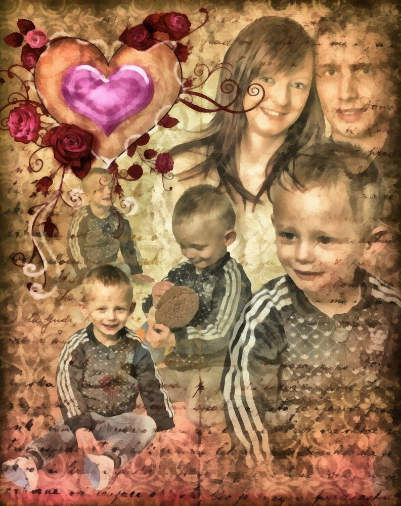 Photo in Portrait #dap #composite #children
