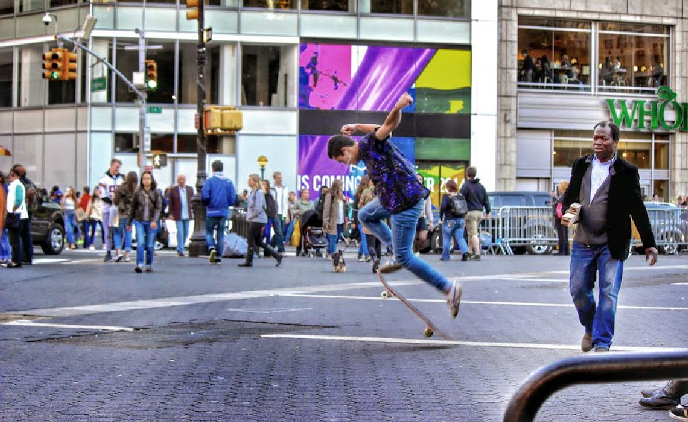 Photo in Street Photography #nyc #skater #teen #youth #square #union square #usa #manhattan