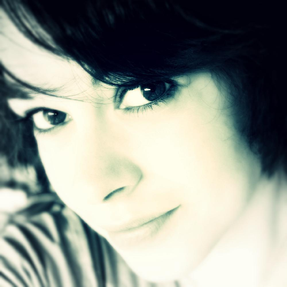 Photo in People #blue #portrait #selfie #avatar #filter #smile #eyes