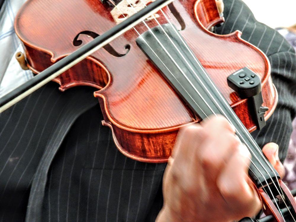Photo in Concert #musica #music #violino #instrument #jacket #hand #wood