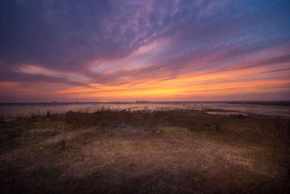 Photo in Sea and Sand #sea #seascape #long exposure #landscape #sunrise #morning #clouds