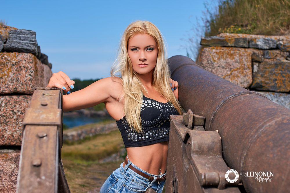 Photo in Portrait #people #model #outdoors #portrait #leinmi