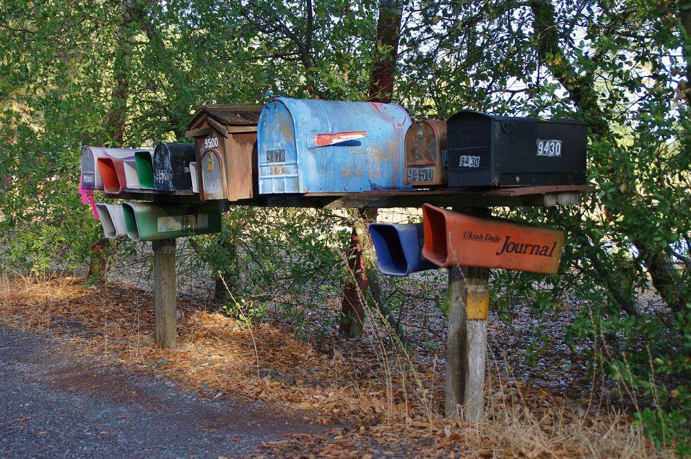Photo in Random #mailboxes #rural #roadside
