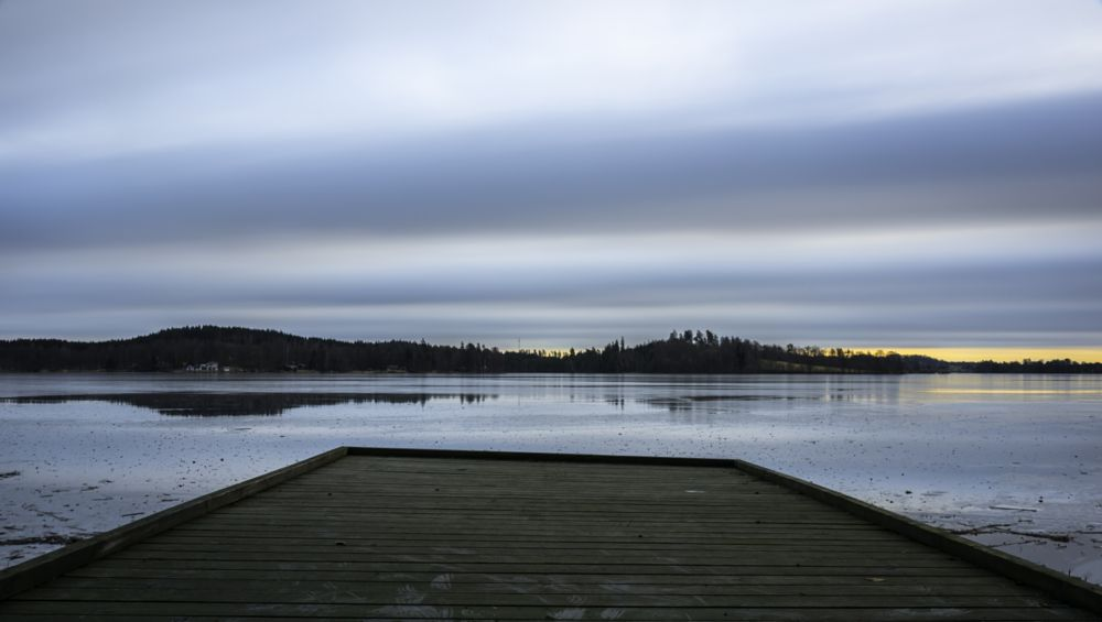 Photo in Landscape #nature #landscape #waterscape #fotonavsjoskum #sunrise #lake
