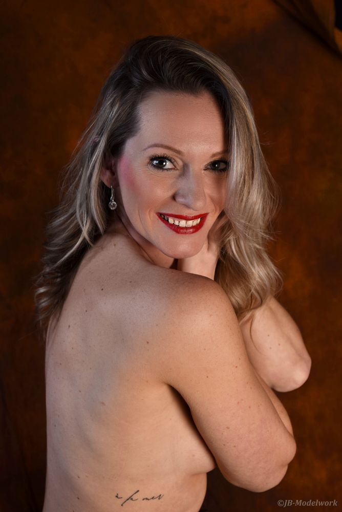 Photo in Portrait #beauty #studioshoot #topless #tattoo #pinup