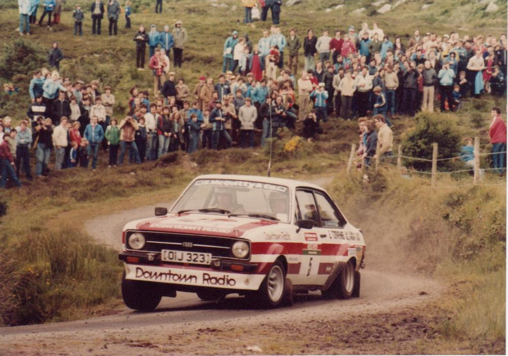 Photo in Sports #rally #ford escort #donegal #ireland