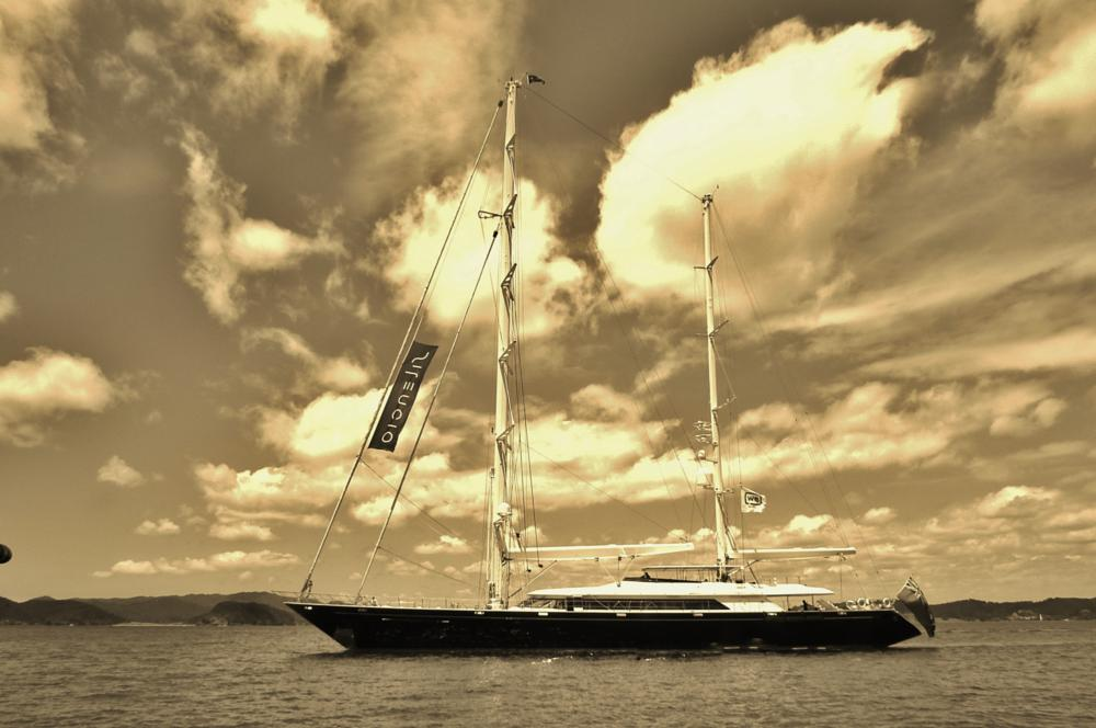 Photo in Travel #yacht #super yacht #bay of islands #new zealand