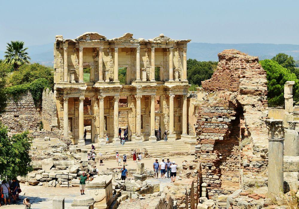 Photo in Travel #ancient #ruins #turkey #ephesus #efes #greek #roman #library