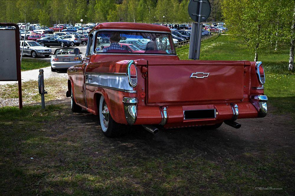 Photo in Vehicle #vehicle #cheva #chevrolet cameo #cheva 57 #summer