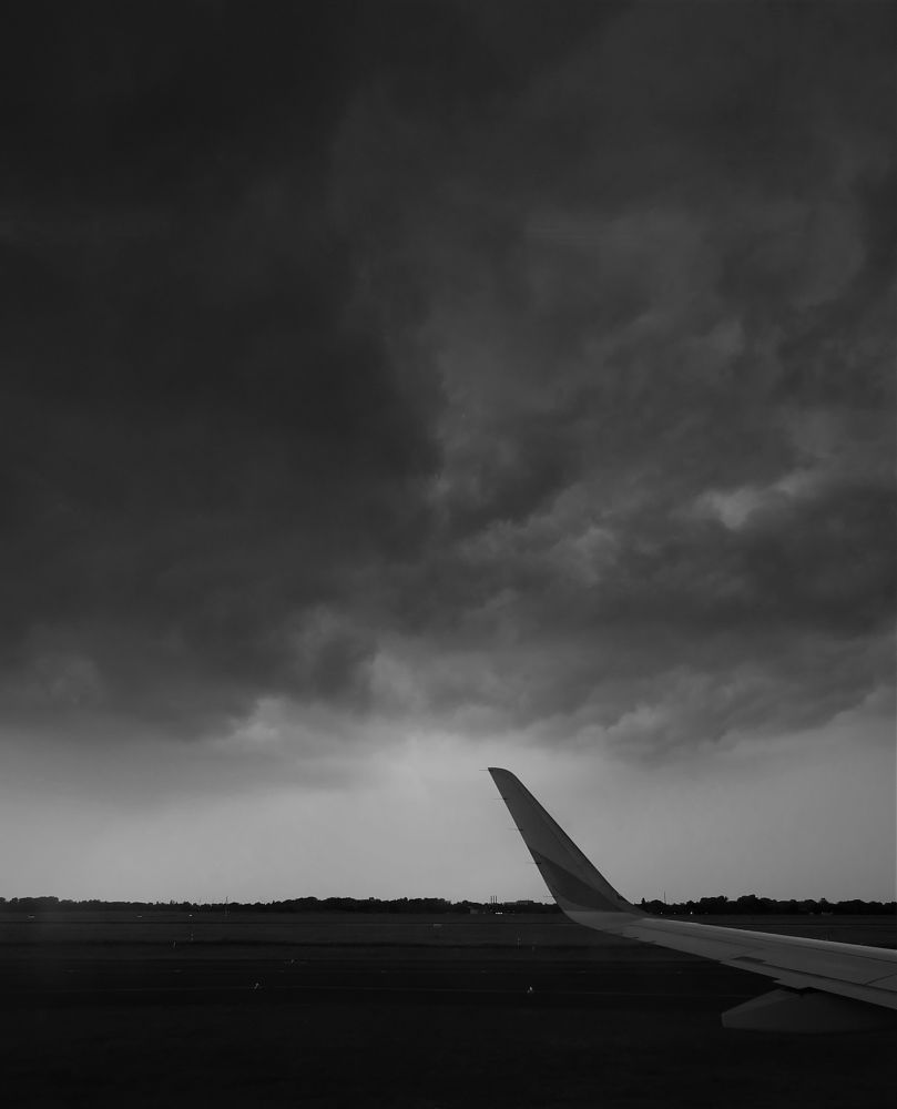 Photo in Travel #clouds #weather #flying #plane #eurowings