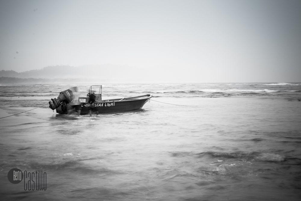 Photo in Black and White #sail #blancoynegro #b&n #b&w #costarica