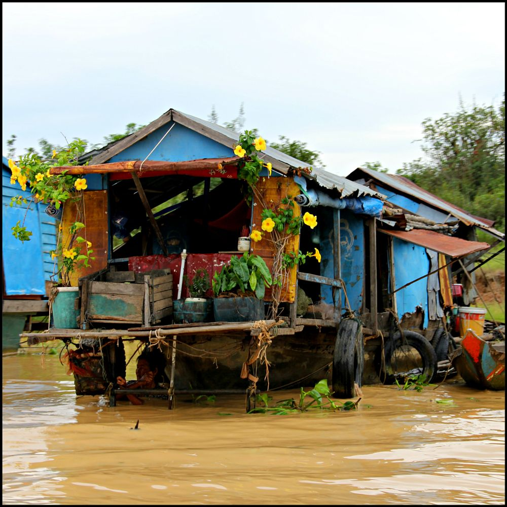 Photo in Travel #siem reap #cambodia #floating village
