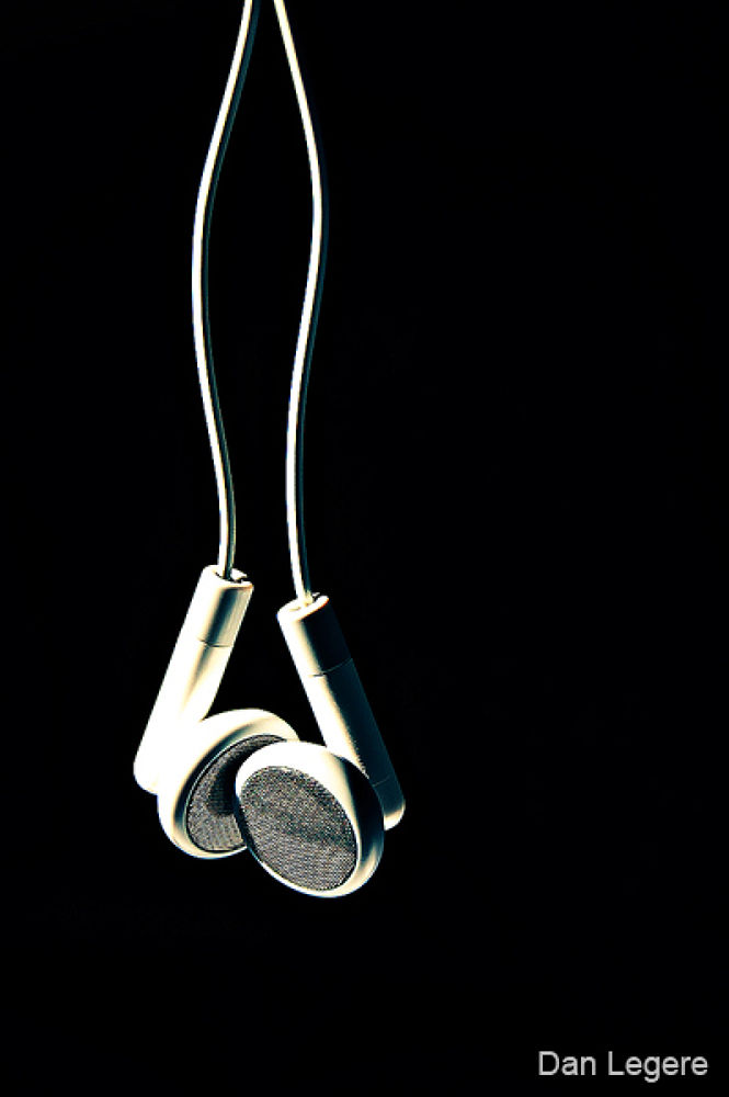 Photo in Abstract #headphones #ypa2013 #nikon d40 #d40 #nikon #danlegere #dan #legere #d7000 #kit lens #dan legere