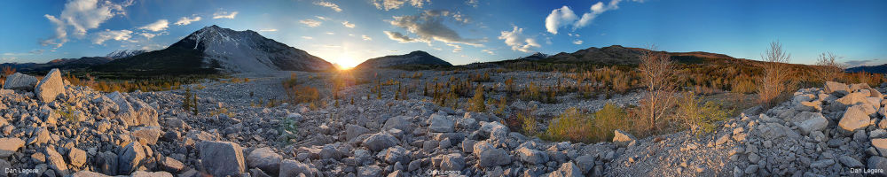 Photo in Landscape #ypa2013 #frank #slide #rocks #landslide #turtle mountain #landscape #alberta #canada #sunset #sunrise #grass #trees #clouds #flowers #water #pink #blue #orange #red #green #amazing #awesome #nikon d40 #d40 #nikon #danlegere #dan #legere #d7000 #kit lens #dan legere