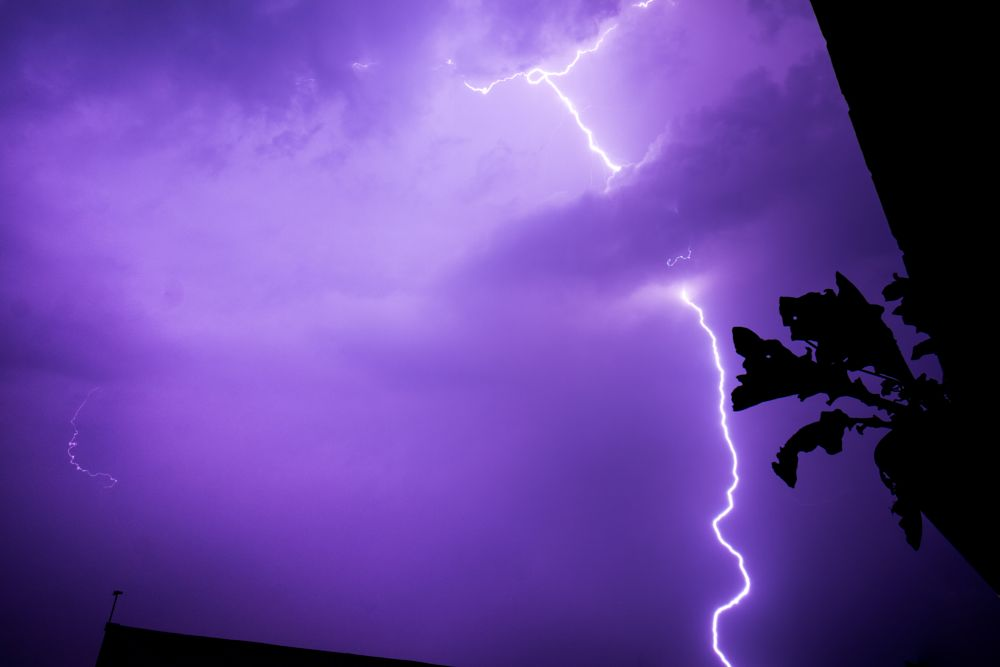 Photo in Nature #lightning #nature #bolt #power #electricity #storm