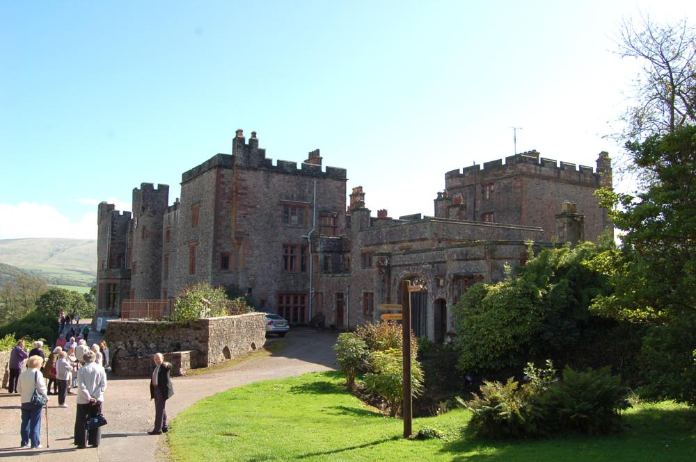Photo in Architecture #heritage #castle #lake district #cumbria