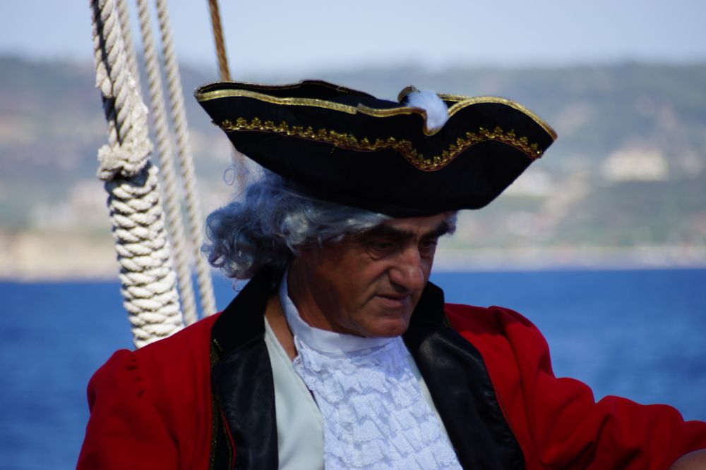 Photo in People #man #pirate #at sea #ship