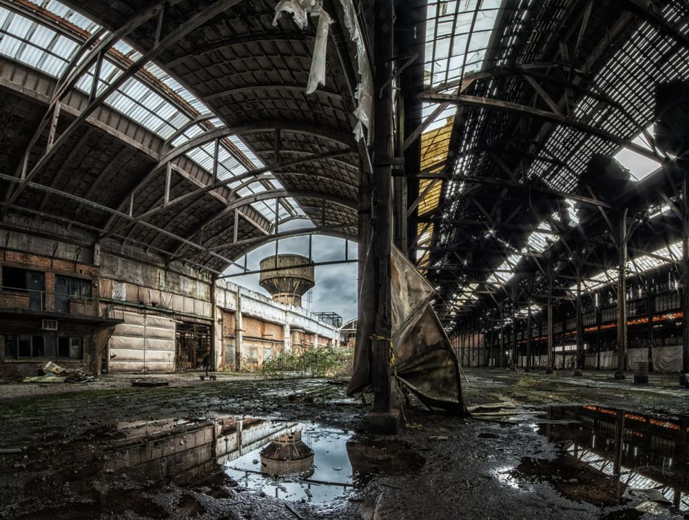 Photo in Urban #urbex #urban exploration #abandoned #industry #reflection #factory