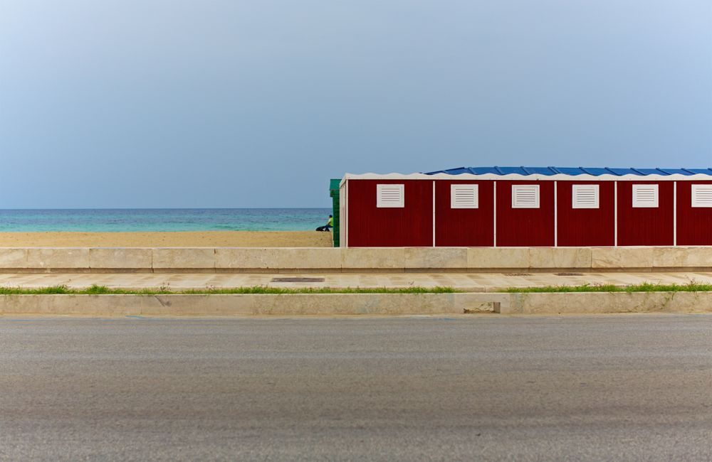 Photo in Street Photography #trapani #sicily #sea #sand #landscape