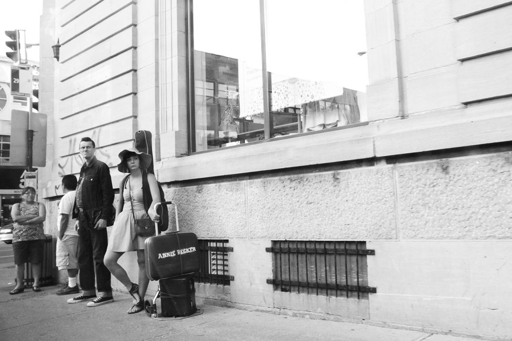 Photo in Random #street photography #montreal #people #humor #slice of life
