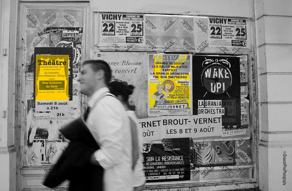 Photo in Street Photography #streetcontest #posters #vichy #france #street