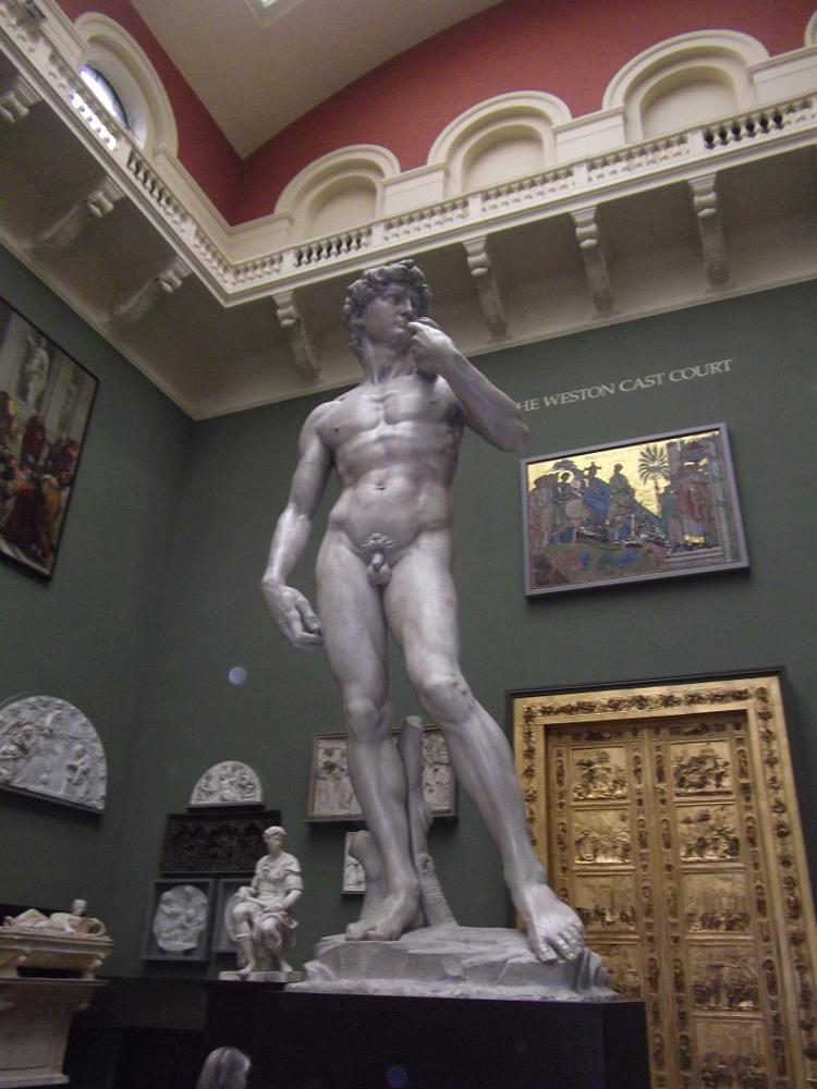 Photo in Fine Art #statue #david #bust #nude