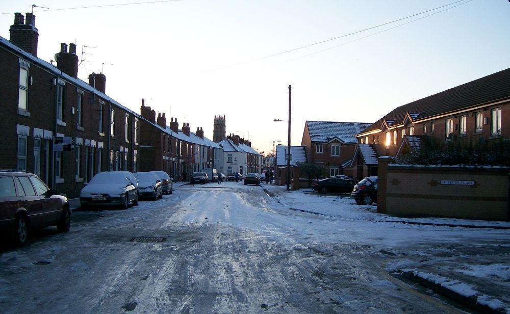 Photo in Landscape #winter #england #freezing #snow #ice