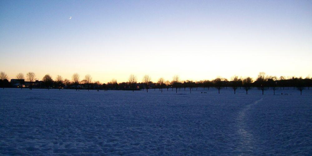 Photo in Landscape #winter #sky #snow #fields