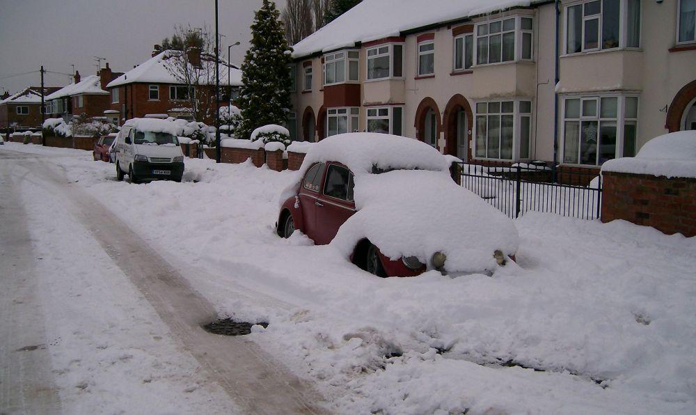Photo in Random #car #snow