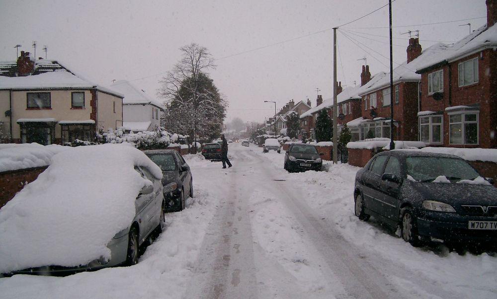 Photo in Landscape #snow #winter #england #landscape #weather