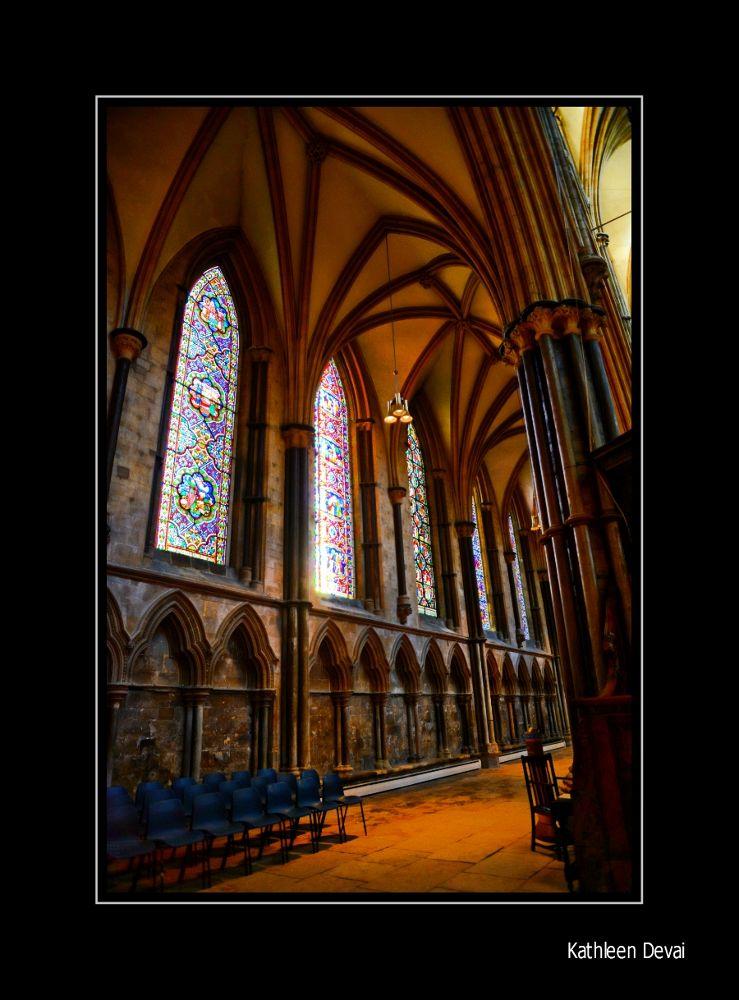 Photo in Concert #church windows light shadow ch