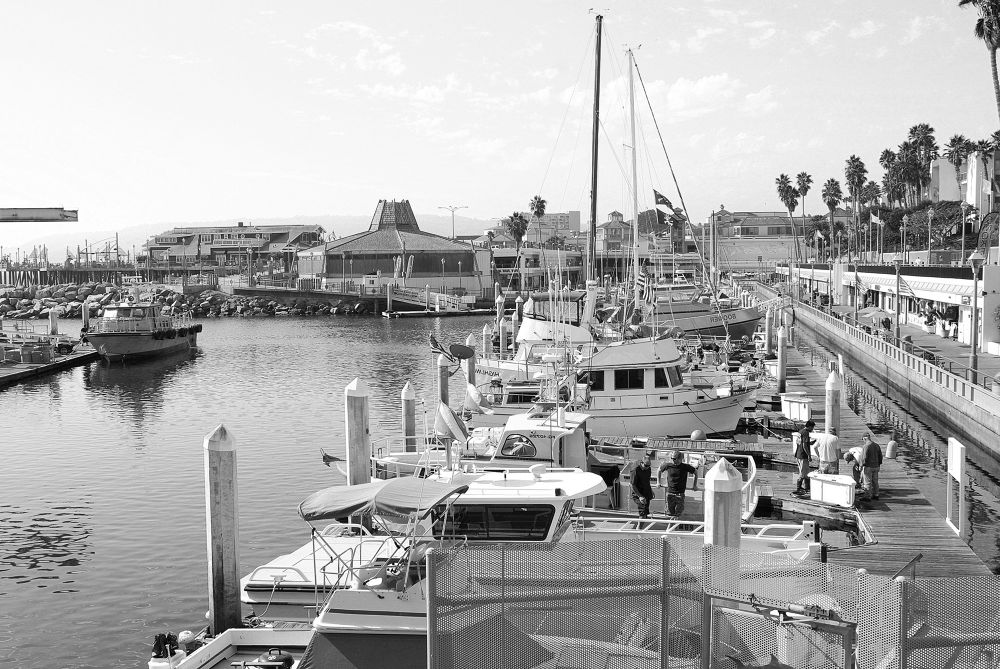 Photo in Random #saseoche #b/w #docking #beach #candid #place #view #redondo beach