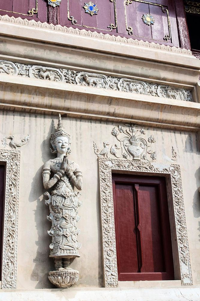 Photo in Architecture #buddhism #sculpture #art #architecture #temple #beautiful #thailand #travel #vacation