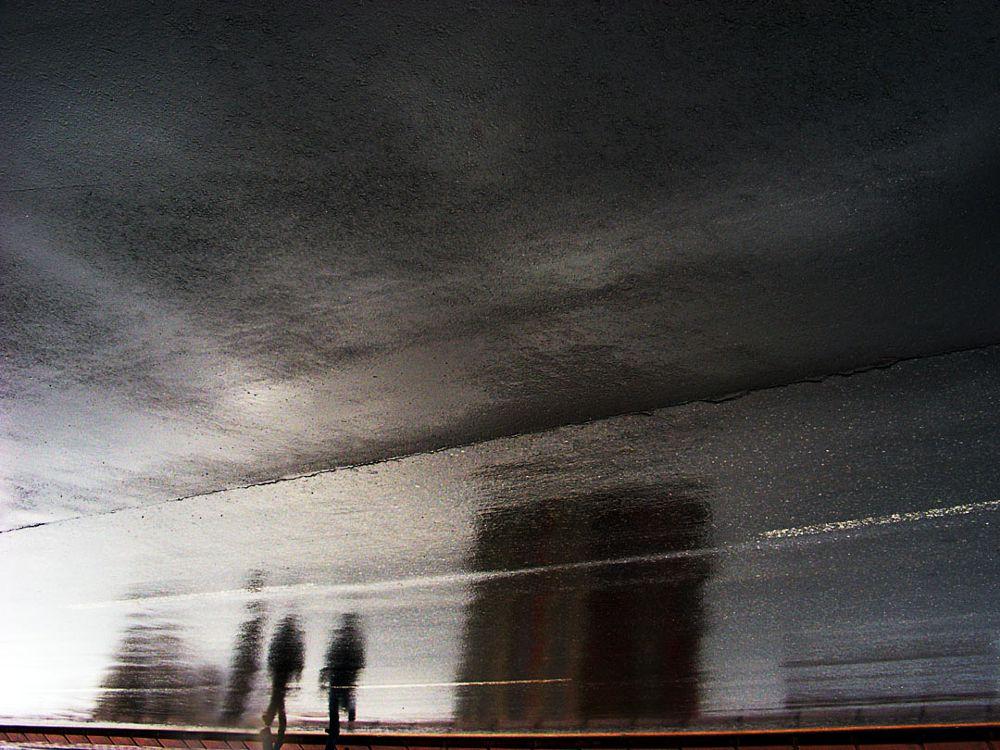 Photo in Street Photography #reflection #reflected #rain #street #fujifilm #finepix