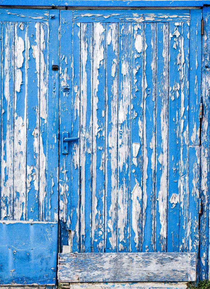 Photo in Urban #wood #paint #peeling #blue #door
