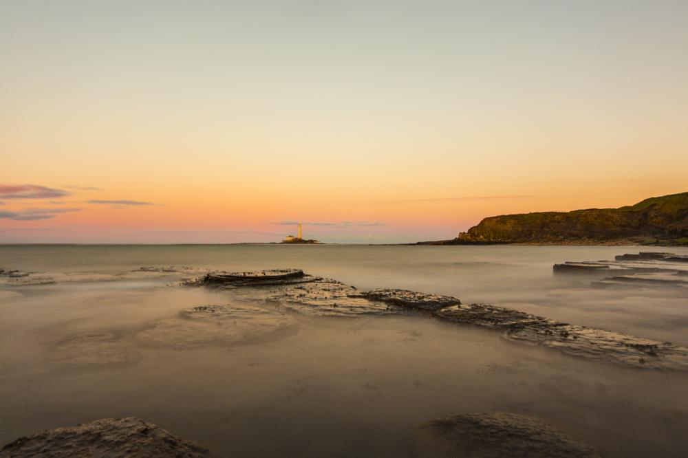 Photo in Sea and Sand #st marys #long exposure #sunset