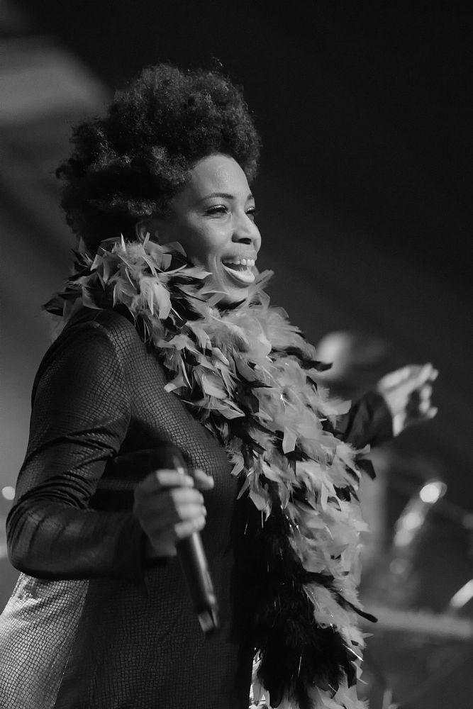 Photo in Concert #macy gray #concert #soul #jazz #music #live #blackandwhite
