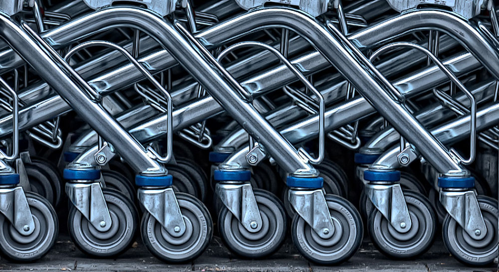 Photo in Abstract #trolleys