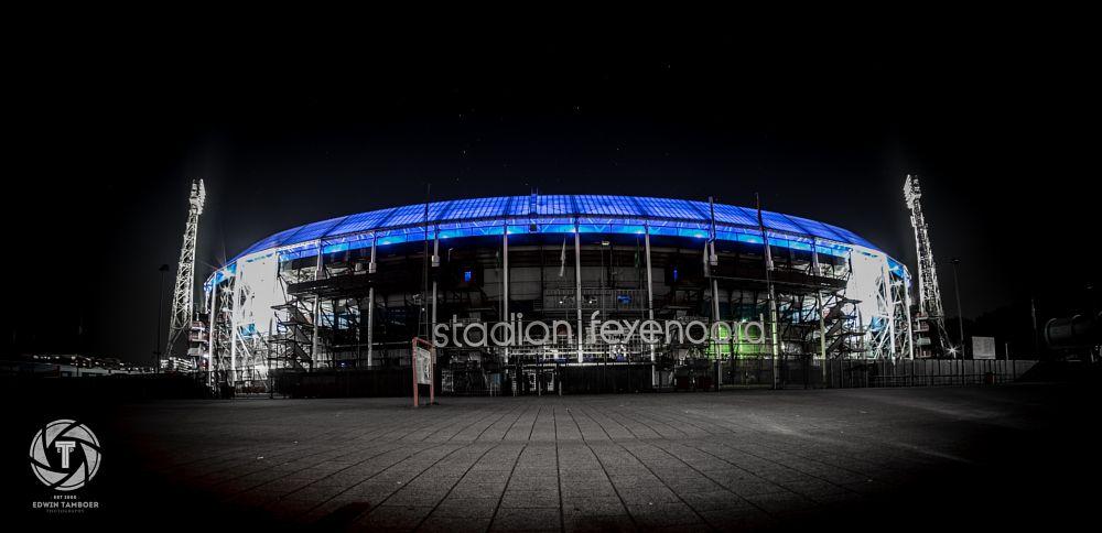 Photo in Cityscape #feyenoord #rotterdam #de kuip #feyenoordstadion