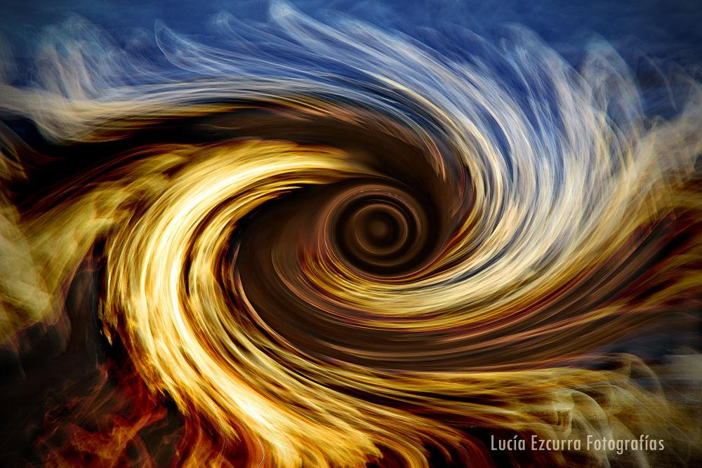 Photo in Random #water #fire #agua #fuego #abstract #abstracto #remolino #swirl #tunel #tunnel #ypa2013