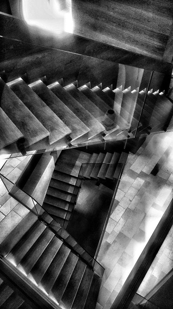 Photo in Architecture #scale #w&b #b&n #architecture #step #interior design