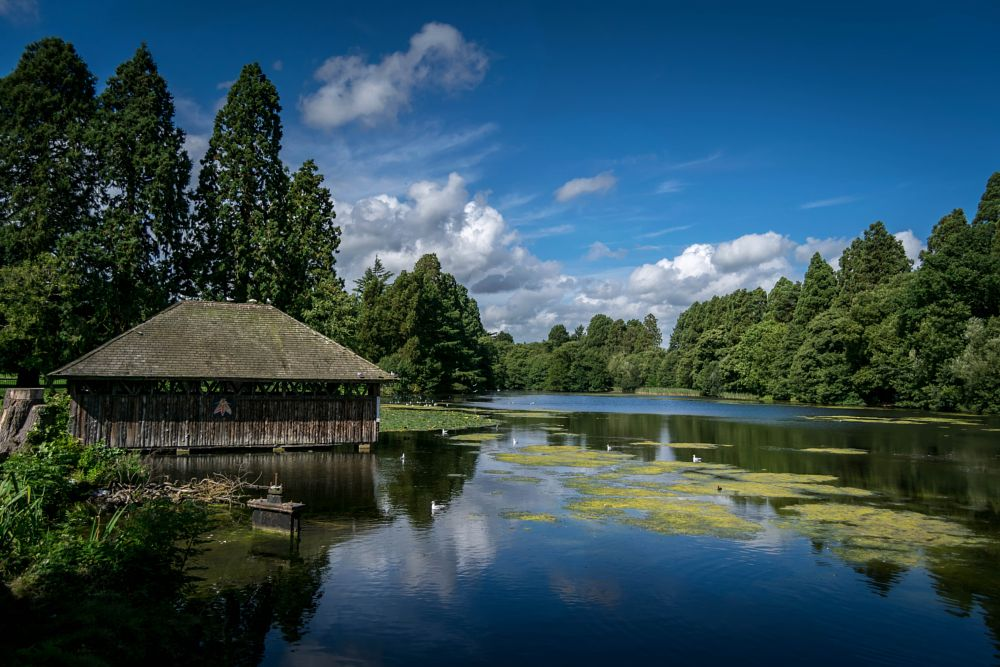 Photo in Landscape #landscape #tradegar #house #national trust #cymru #wales #uk