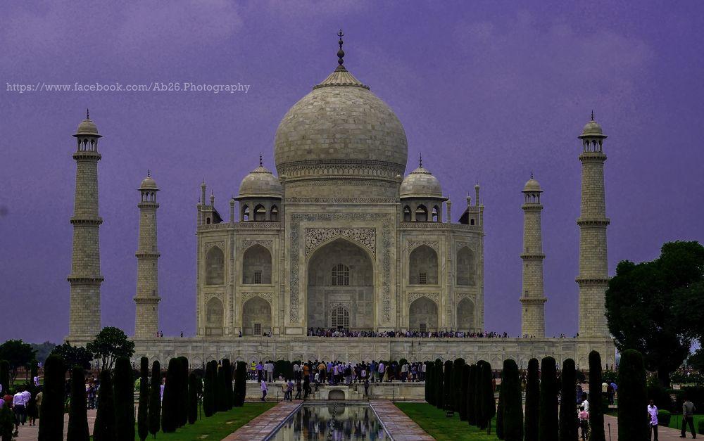 Photo in Architecture #d5000 #india #delhi #architecture #love #taj #tajmahal #nikon